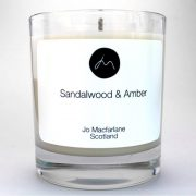 Sandalwood Luxury Candle by Jo Macfarlane