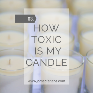 How toxic is my candle