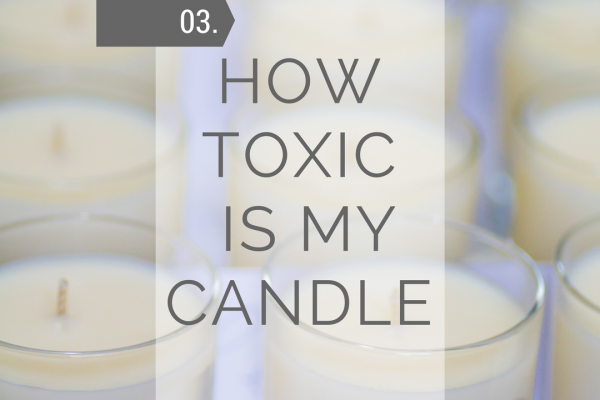 How Toxic is my candle?