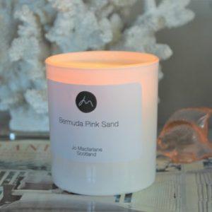 Bermuda Pink Sand luxury candle