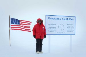 Keith Partridge at Antarctica