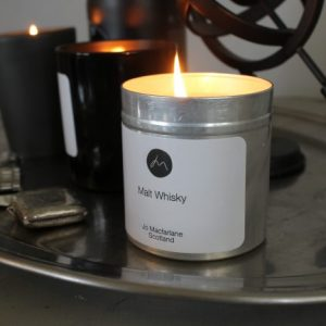 Malt Whisky Luxury scottish candle