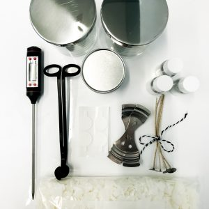 Candle making kit contains all you need to make 3 + candles
