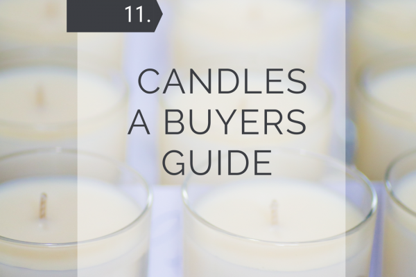 Candles – A Buyers Guide