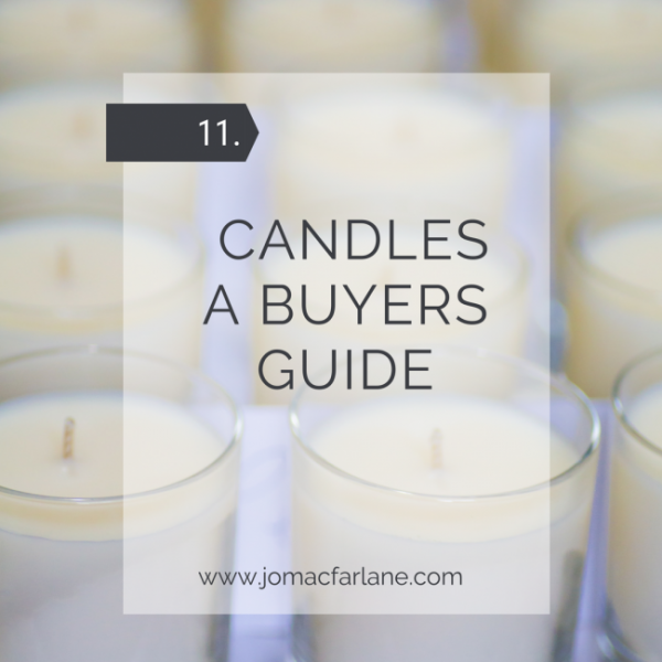 Candles - A buyers guide